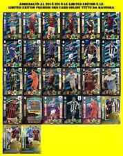 Calciatori Panini Adrenalyn xl 2018 2019 limited edition premium oro card online