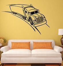 Wall Stickers Trailer Truck Garage Car Auto Art Mural Vinyl Decal (ig1975)