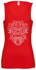 Chinese Dragon Head I Damen Tank Top Mask China Asia Asian Symbol Sign Insignia