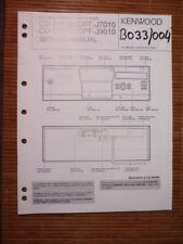 Service-Manual KENWOOD cd-2260m/2280m, dpf-j7010/j9010