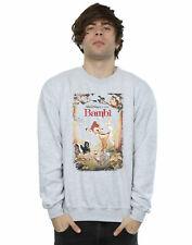 Disney Homme Bambi Retro Poster Sweat-Shirt