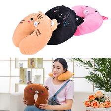 Cartoon Animals U Shaped Travel Pillow Neck Support Head Rest Headrest CushionBB