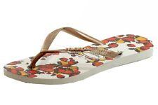 Havaianas Women's Slim Fruits Fashion Flip Flop Sandal White Shoes