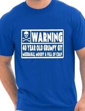 40 años de antigüedad Git Para Hombre Funny cuadragésimo aniversario Regalo Día Del Padre Camiseta, TALLAS S-XXL
