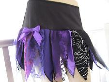 Raffreddare NERO, VIOLA, ROSSO, ROSA, VERDE SPARKLES Fairy Petalo Tutu skirt.festival, ROCK