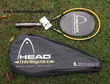 New Head Intelligence speed i.Speed Tennis Racket Midplus 102 strung  unstrung