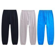 da uomo MORBIDA Harem Yoga larga Pantaloni Larghi Sport corsa ALI BABA sportivi