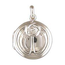 Men's Sterling Silver Rennie Mackintosh Style Round Locket