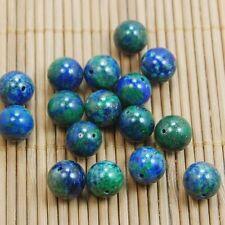 Natural Gemstone Lapis Lazuli Chrysocolla  Round Loose Spacer Beads 4/6/8/10mm