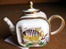 KELVIN CHEN Enamel Mini Teapot - Tropical Fish Ocean