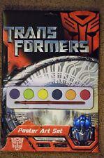 Cartel De Cine TRANSFORMERS Pintura Artística Set 10 Fotos a Color Paint Incluido