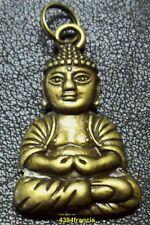 +++ Pendentif Statue Statuette Bouddha Bronze +++ Buddha Pendant