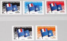 Taaf FSAT 2008 Maury 499-03 646-50 définitif DRAPEAU FLAG Freimarken MNH
