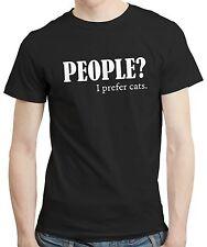 La gente? prefiero Gatos Gato Gatito Amante Animal Mascota Ropa Camisa Camiseta Camiseta