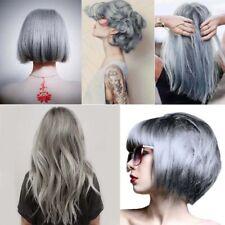1~2 Permanent Light Grey Smokey Grey Silver Hair Dye Cream Punk Style 100ML