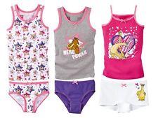 (R45) Niños Niñas Conjunto De Ropa Interior Calzoncillos Camiseta 2 piezas