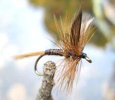 GILCHRIST FLIEGEN Trockenfliegen ROYAL WULFF 4 Stück von einer Größe.