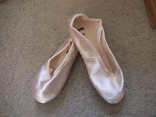 Satén Rosa Starlite Split Suela Zapatos De Ballet-todos Los Tamaños