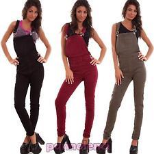 Salopette femme costume global grenouillère coloré skinny élastique neuf YD6320