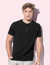 Herren Shawn Henley T-shirt / Single-Jersey | Stedman