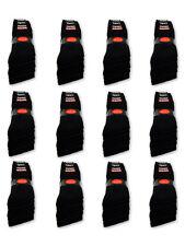 10 bis 120 Paar Sportsocken Arbeitssocken Tennissocken  Größe 35-50 Schwarz Weiß