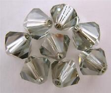 5 6mm Swarovski 5301 Crystal Bicones -- Lt. Azore Satin
