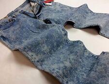 Levi's Levis Men Vintage Retro Bleached Wash 541 Athletic Straight Stretch Jeans