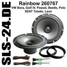 Rainbow 260767 Haut-parleurs VW Golf 5 Passat Polo 70 W LSP Adaptateur + anneaux Voiture Set