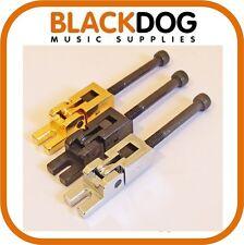 Single tremolo bridge saddles in chrome black or gold PS115 Floyd Rose guitar