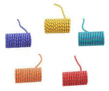 Springseil als Meterware - Rollenware - Blau Grün Gelb Rot Grün - von der Rolle