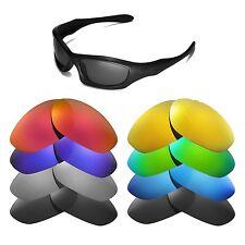 Walleva Replacement Lenses for Oakley Monster Dog Sunglasses - Multiple Options