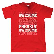 Estoy tratando de ser impresionante para Hombre Divertido Camiseta, Regalo Para Papá él