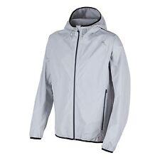 CMP chaqueta Aire Libre funcional Impermeable Gris Capucha