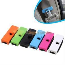 1 COPPIA AUTO Cintura di sicurezza Regolazione Bloccaggio Stopper Clip Extender Buckle. UK Fornitore