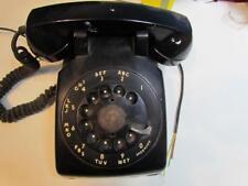 Early Vintage Black Western Rotary Dial 1953 500 C/D Telephone Bakelite
