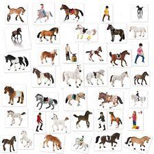 Bullyland Pferde Figur Sammeln Haflinger Fohlen Lipizzaner Hengst Shetlandpony