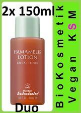 Duo 2 Hamamelis Lotion Dr Eckstein Biokosmetik für eine unreine fettende Haut