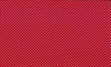 Makower 830   Cotton Polka Spot on Colour Basics Fabric ½m x 112cm