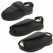 True Face Men Ladies Diabetic Slippers Orthopedic Memory Foam Wide Fitting Shoes
