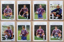 1996-97 Signed Bayern Munich Official Club Cards - Bundesliga Champions Season