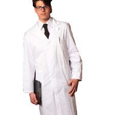 Camice Bianco da Laboratorio medico dottore manica lunga leggero made in italy
