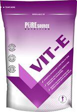 100% Vitamine E 400iu 60/120/180/240 /360 Capsules Anti-oxydant Sain Cheveux