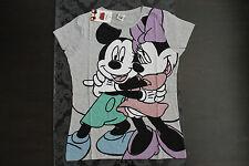 Disney Character Shirt Minnie Maus Farbe Grau Größe S oder M Neu mit Etikett