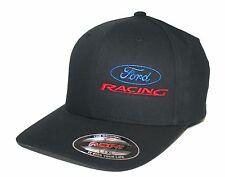 Ford Racing hat cap fitted flexfit curved bill S/M L/XL XL/XXL