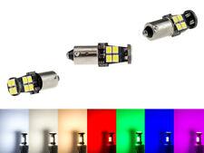 Maxlume ® 12x SMD 2835 Can-Bus LED aproximadamente 720lm ba9s t4w metal zócalo 12v 24v