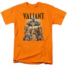 Valiant Pyramid Group Mens Short Sleeve Shirt Orange