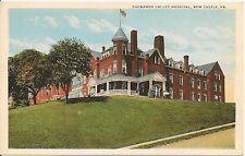 Shenango Valley Hospital New Castle PA Postcard