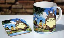 Totoro My Neighbour Characters Tea / Coffee Mug Coaster Gift Set
