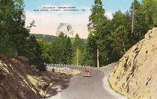 PALOMAR OBSERVATORY CALIFORNIA - 1940s LINEN POSTCARD