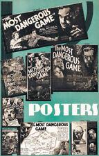 The Most dangerous game Joel McCrea movie poster